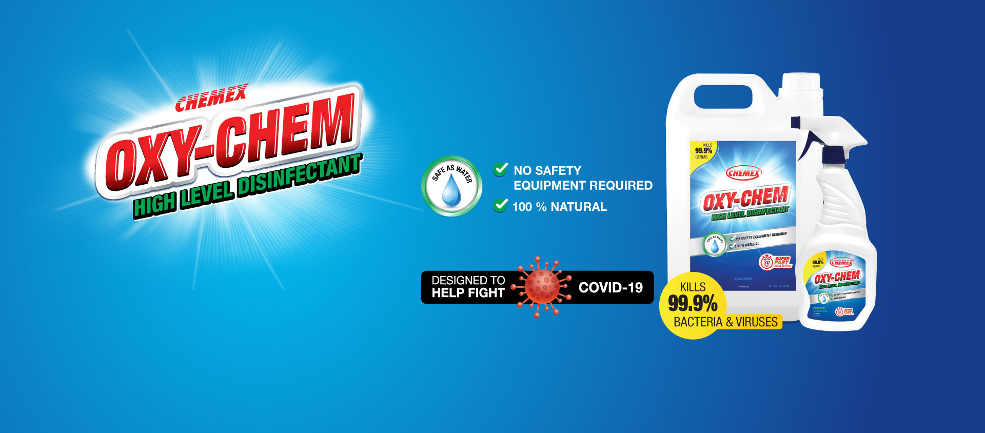 OxyChem Disinfectant Cleaner