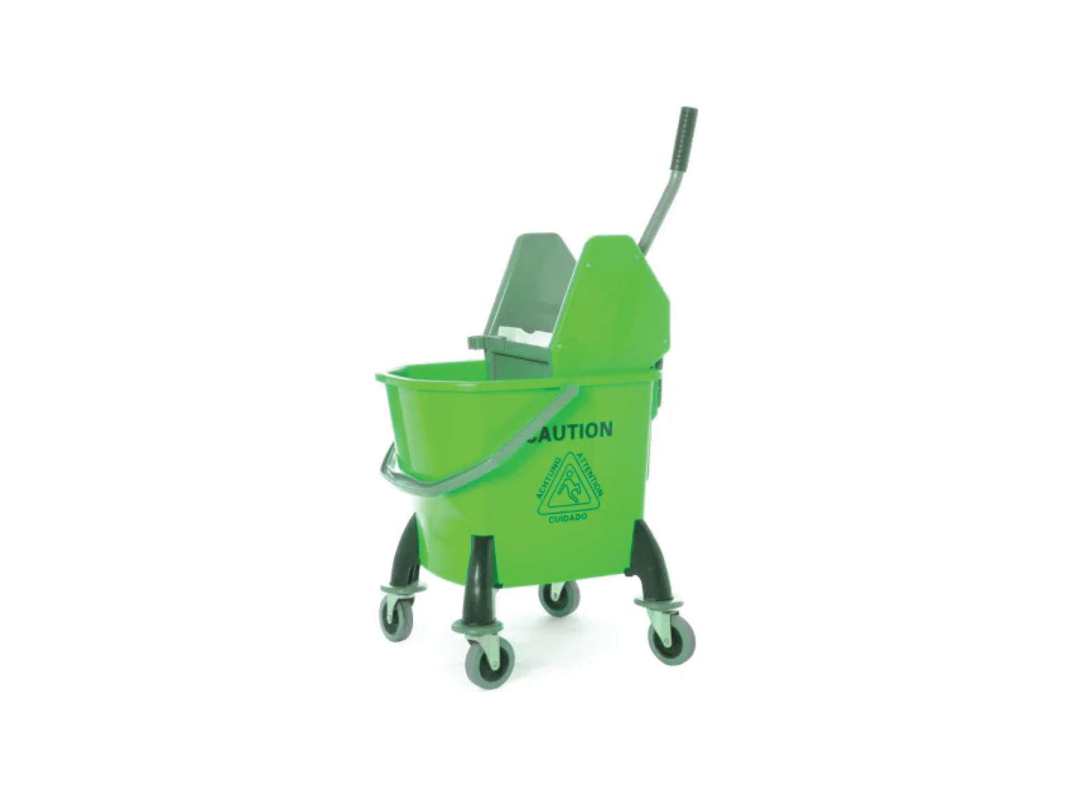 Compact Single Mop Bucket Trolley