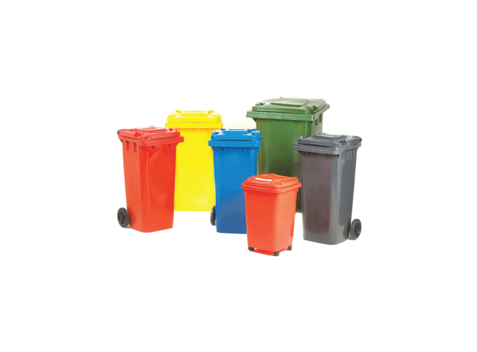 Foot Operated Bin With Lid