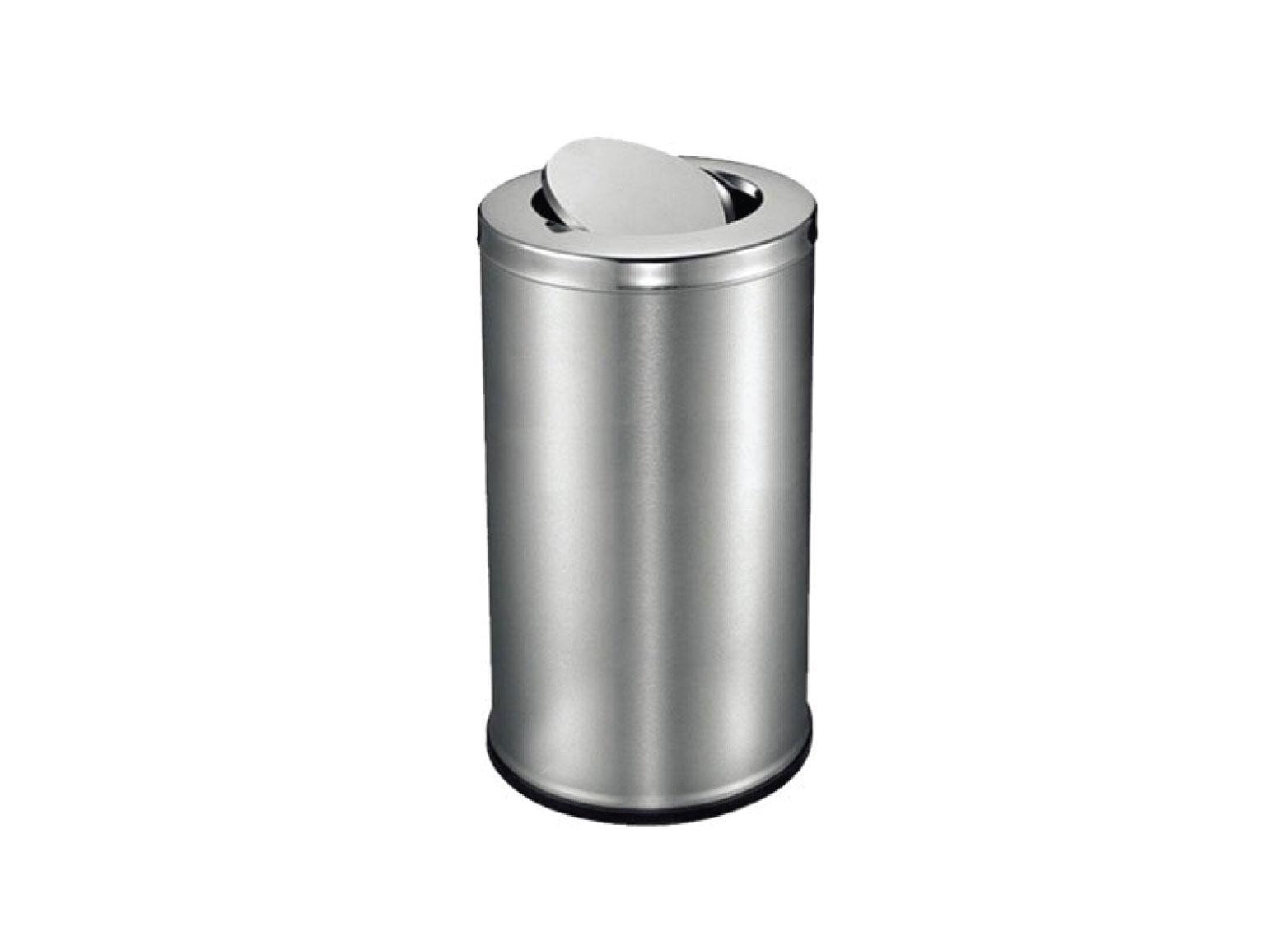 Stainless Steel Swing Top Bin