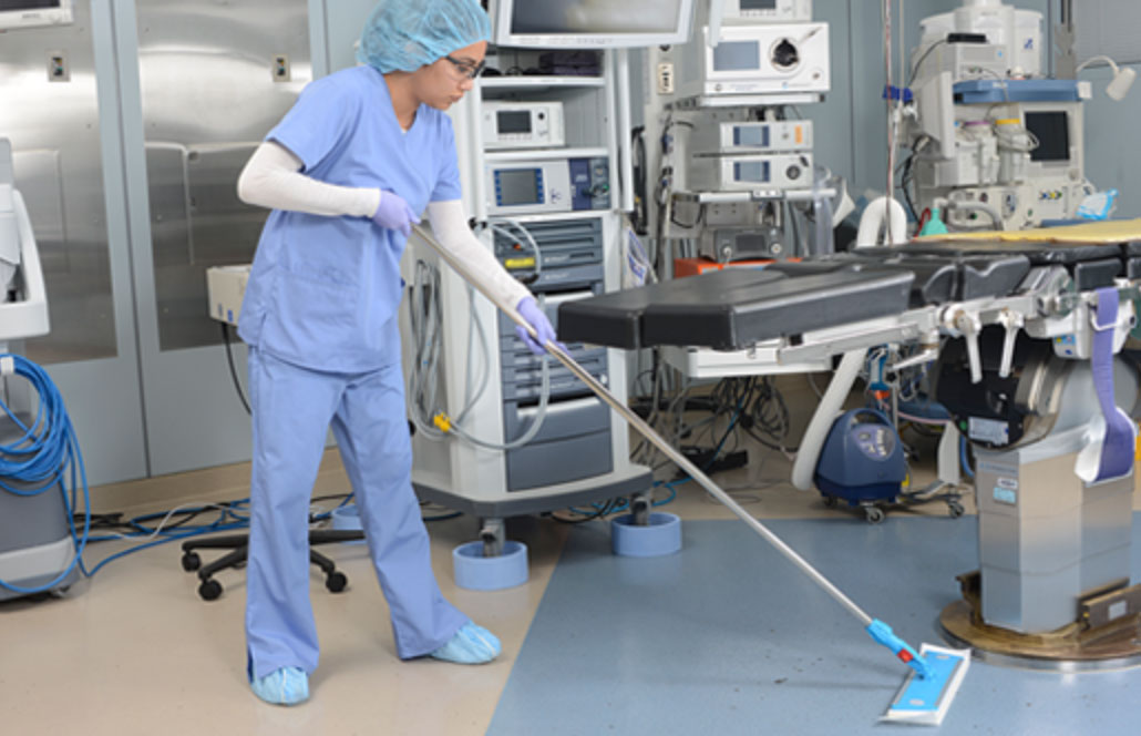 how to clean hospital with ease