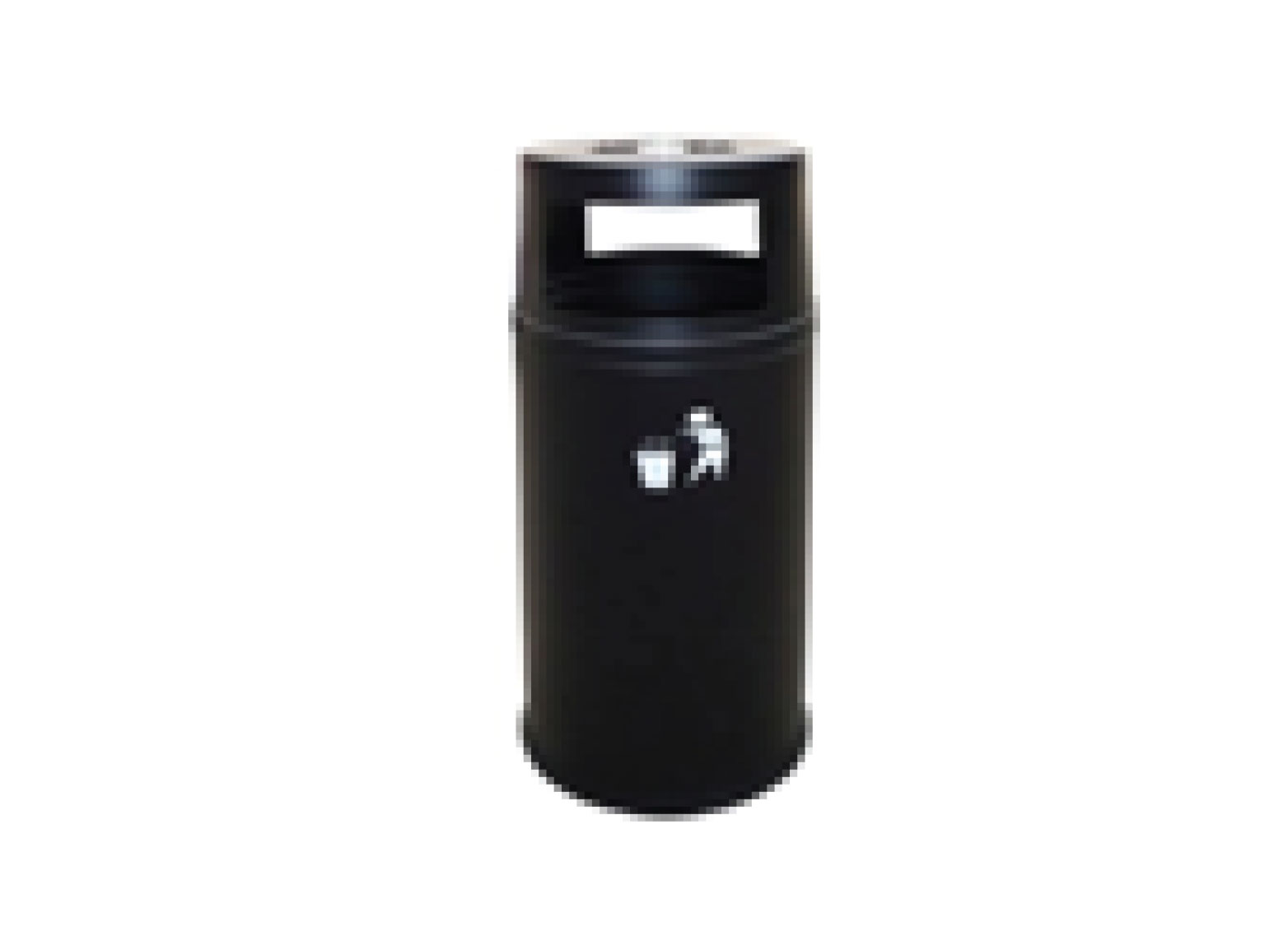 Outdoor Bin with Ashtray