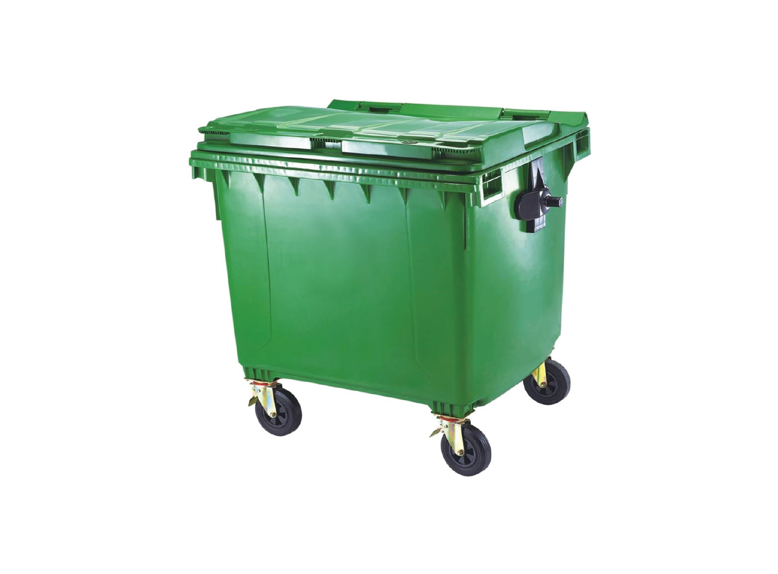 Outdoor Garbage Bin Green