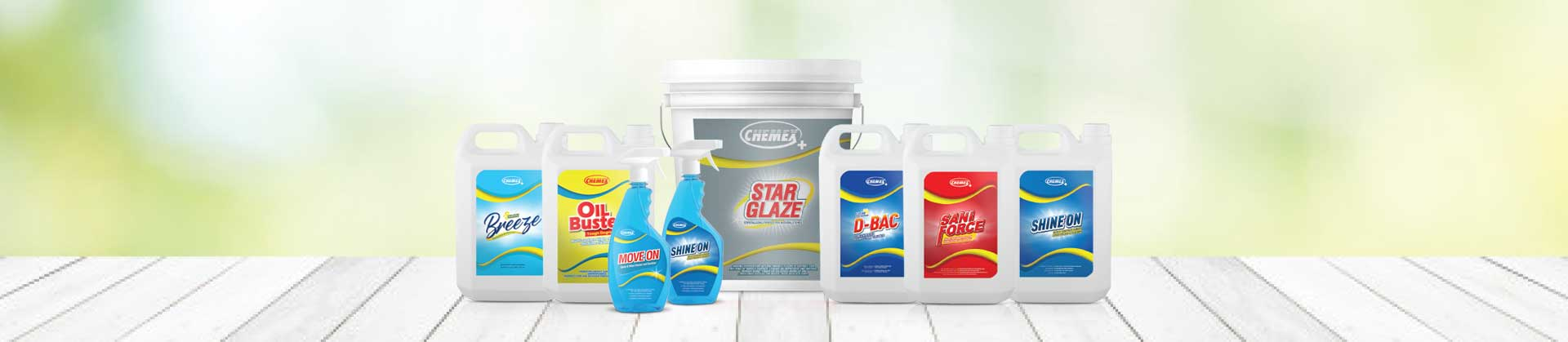 Chemex+ range of products