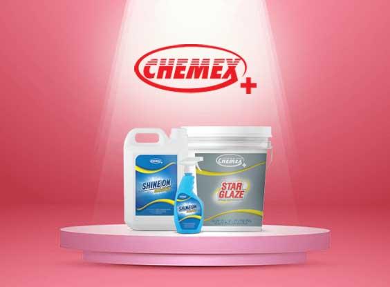 Chemex Plus Range of Chemicals