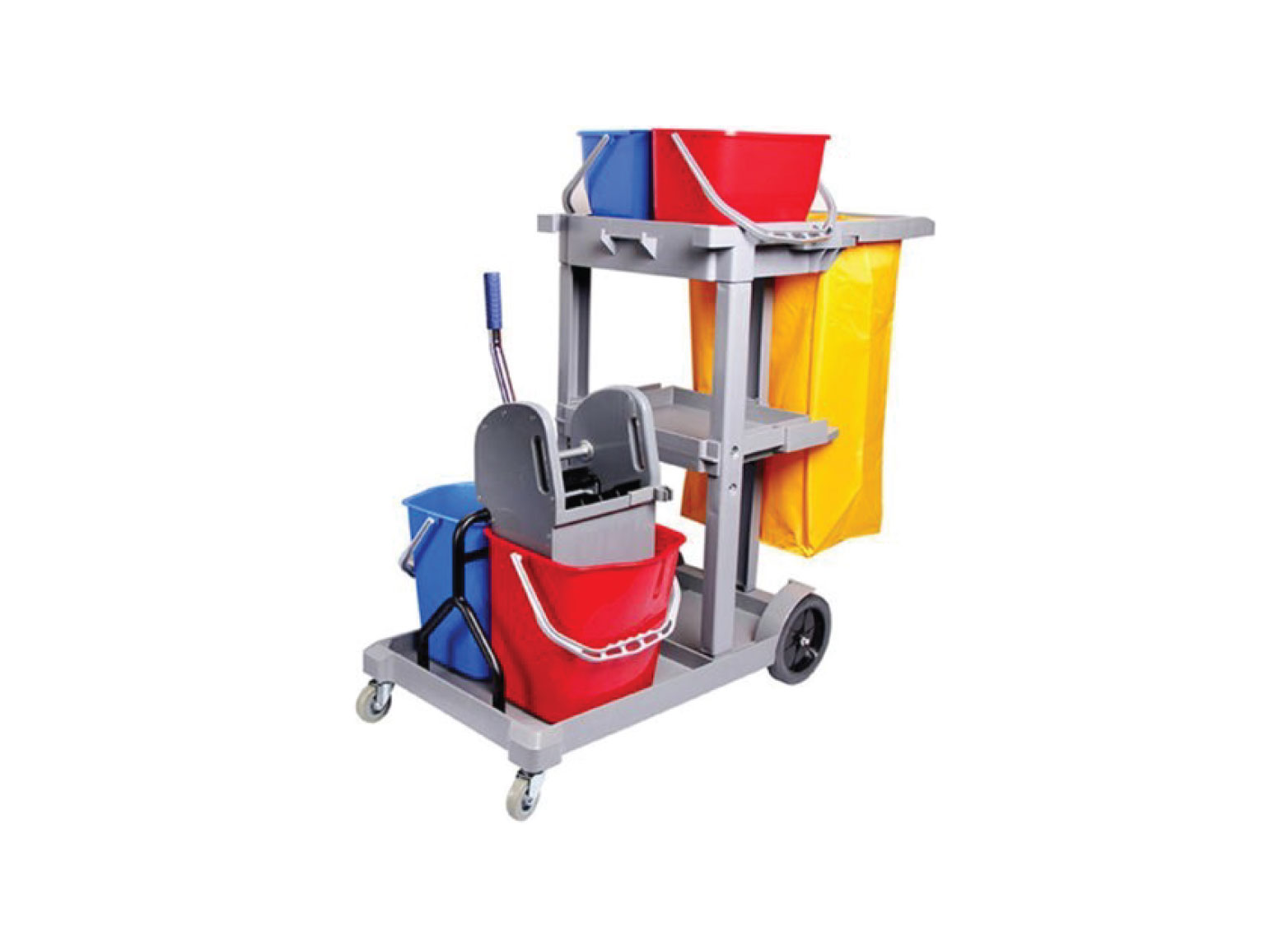 Multi Function Janitor Cart